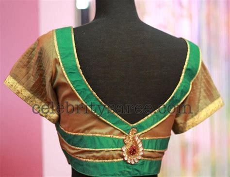 design pattern blouse back neck pattu saree blouse back neck designs catalogue image