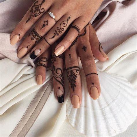 tattoo nation tormod strand diese 26 henna motive sind die perfekte alternative zu