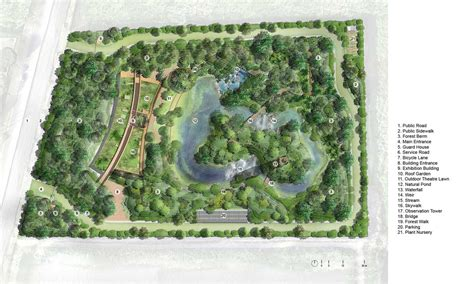 forest nursery layout plan 12 masterplan 171 landscape architecture works landezine