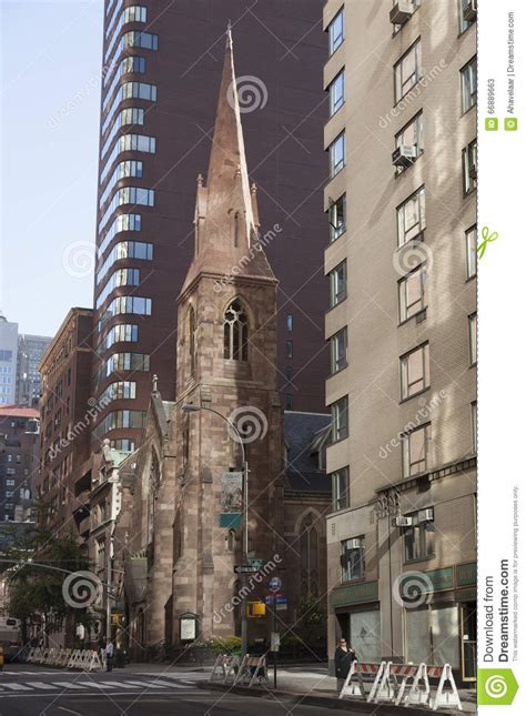 City Light Church Nyc by Church Of The Incarnation In New York City On 209 Ave Editorial Stock Photo Image