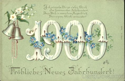 new year animals from 1900 1900 frohliches neues jahrbundert new year s