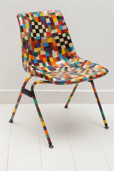 Multi Color Decoupage Chair For Sale At 1stdibs