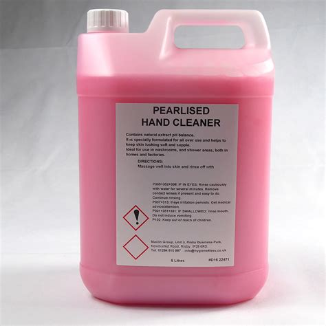 Luxury Pink luxury pearlised pink soap 5 litre hygiene4less