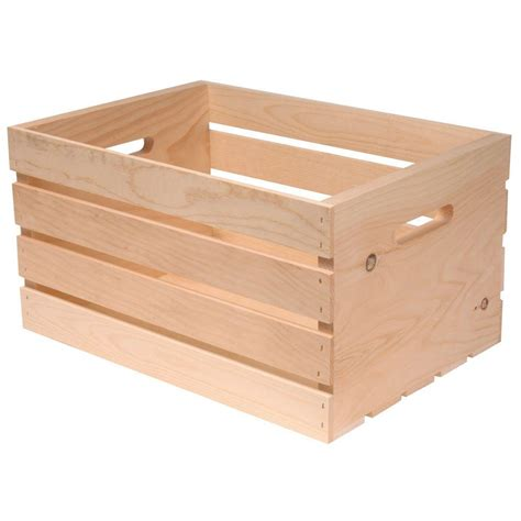 Home Depot Small Wood Box Why Yes We Do Put Crates In Our Crates The And