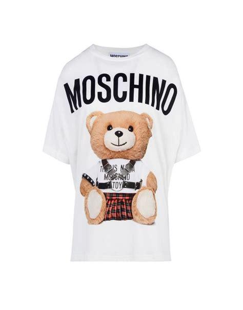 Moschino Tshirt moschino sleeve t shirts moschino