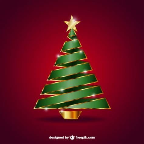 arbol de navidad vector 193 rbol de navidad con la estrella dorada descargar