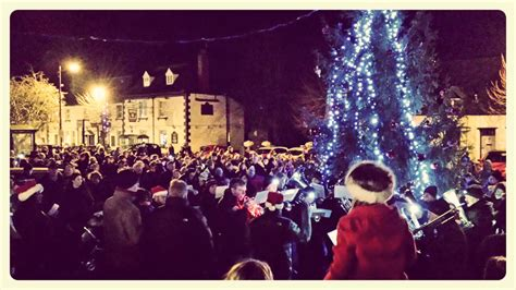 carols around the christmas tree 2014 shrivenham fete