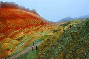 ellergy china s beautiful colorful mountains