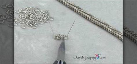 how to make chainmail jewelry how to make a box chain for chain mail style jewelry
