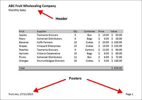 header and footer design exles headers and footers business document writing