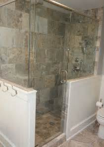 Shower Enclosures With Half Wall Top Half Wall Shower Enclosures Images For Tattoos