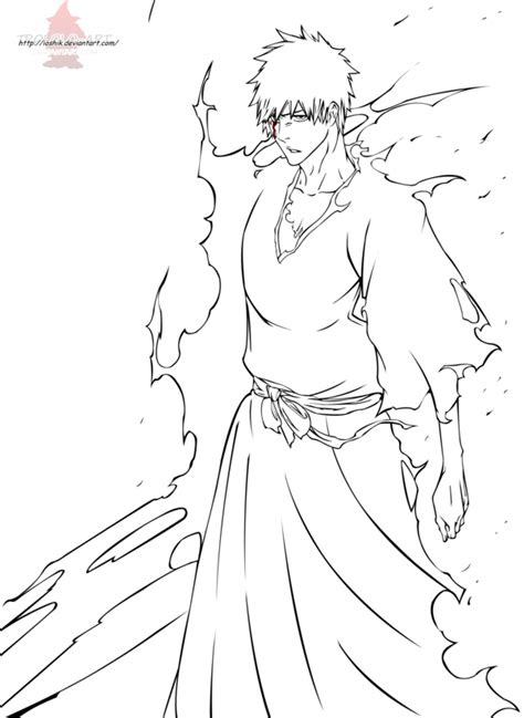 ichigo coloring pages coloring home