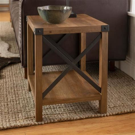 walker edison   rustic oak rustic urban industrial