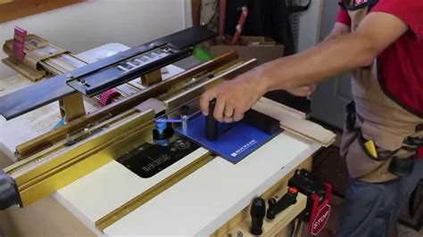 Rockler Rail Coping Sled Demo Glass Impressions 123vid