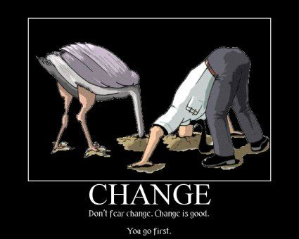 Change Meme - the more things change the more they stay the same
