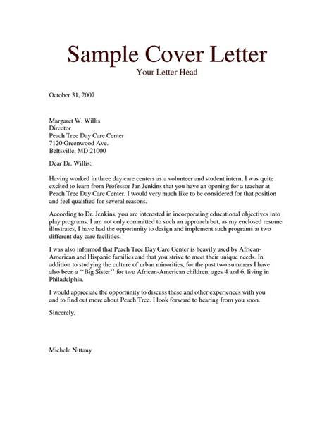 Cover Letter For Volunteer Teaching Assistant lovely cover letter for volunteer teaching assistant 35 in