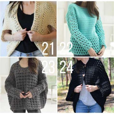 free crochet pattern ladies jersey easy free crochet sweater patterns 6 make do crew
