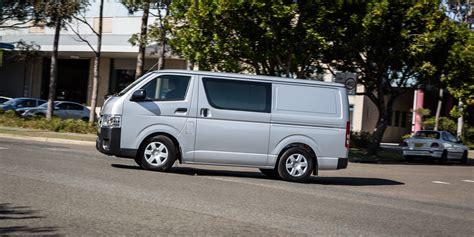 Toyota Hiace 2016 2016 Toyota Hiace Lwb Review Caradvice