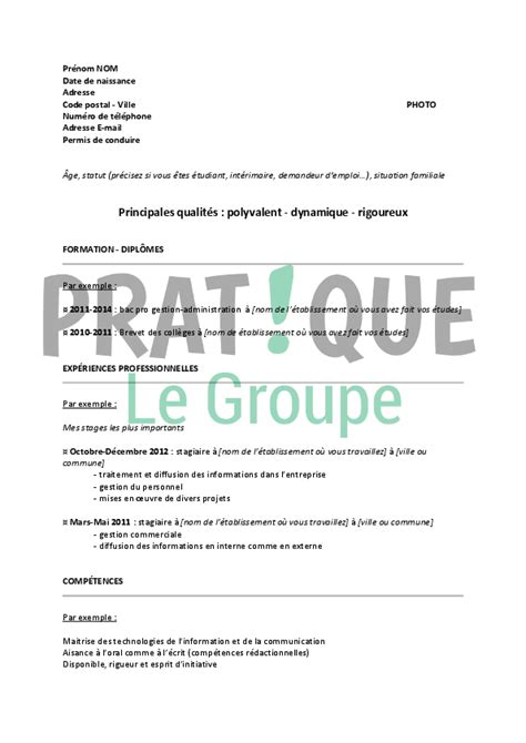 Lettre De Motivation De Gestion Administration Modele Lettre De Motivation Bac Pro Gestion Administration Document