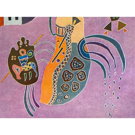 wassily kandinsky vintage  authentic abstract