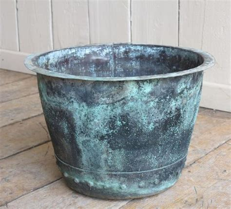 Copper Planters Uk by Antique Copper Garden Outdoor Planter Or Plant