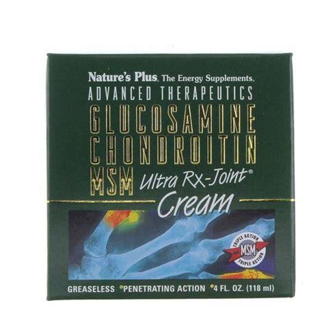 Glucosamin Ultra Rx Natures Plus Isi 120 Untuk Kesehatan Persendian nature s plus glucosamine chondroitin msm ultra rx joint 4 oz jar evitamins