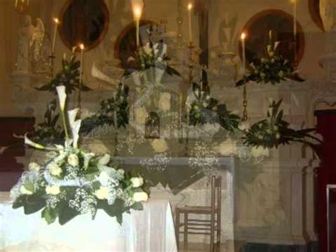 tavole liturgiche fiori per gli angeli