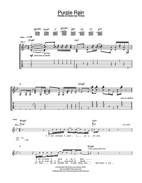 Prince Guitar Chords