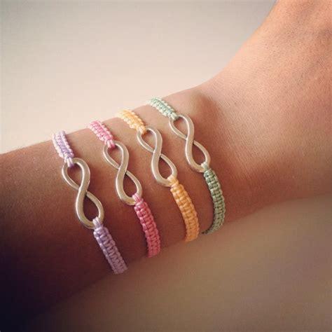 infinity charm bracelets infinity charm friendship bracelet one on luulla