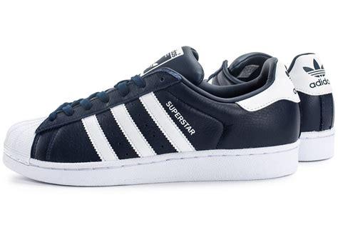 adidas superstar cuir bleu marine chaussures homme chausport