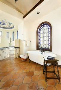 Mediterranean Bathroom Design by 20 Interiors That Embrace The Warm Rustic Beauty Of