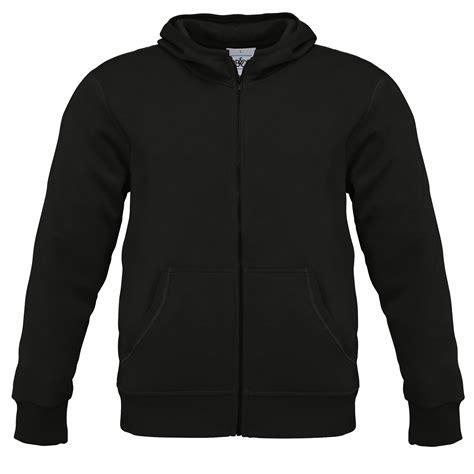 Zipper Hoodie Blasterjaxx 3 b c mens zip plain hooded sweatshirt hoodie