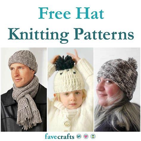 favecrafts free knitting patterns 27 free hat knitting patterns favecrafts