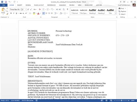 layout email engels office 2013 word interface diskidee