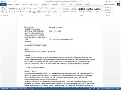 layout zakelijke email office 2013 word interface diskidee