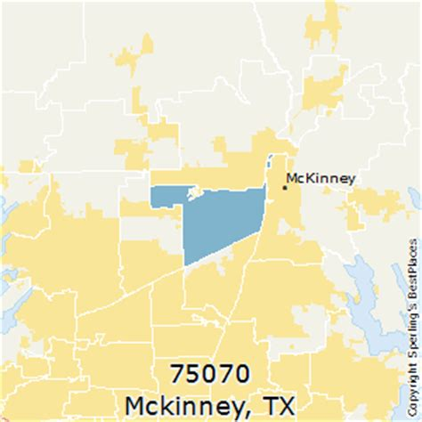 mckinney texas zip code map best places to live in mckinney zip 75070 texas