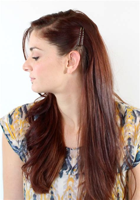 12 simple ways to wear bobby pins ma nouvelle mode cute hairstyles for straight hair with bobby pins hairstyles