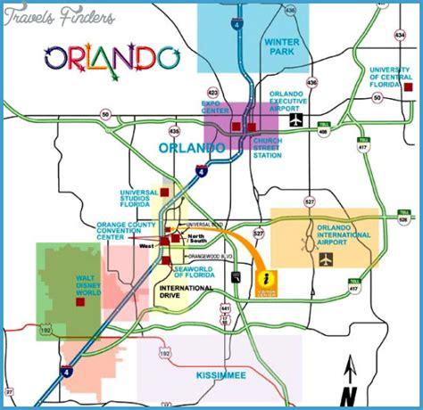 orlando subway map travelsfinders