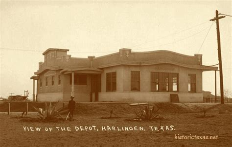 depot harlingen history genealogy photos