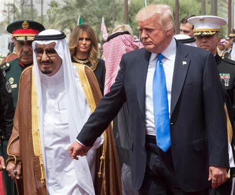 donald trump qatar gulf crisis trump sides with ksa against qatar the