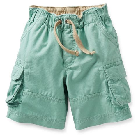 imagenes de shorts verdes shorts para ni 241 o verdes con jareta 6 24 meses carters