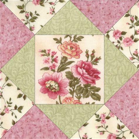 Pre Cut Quilting Kits by Floral Flower Pre Cut Quilt Kit Blocks