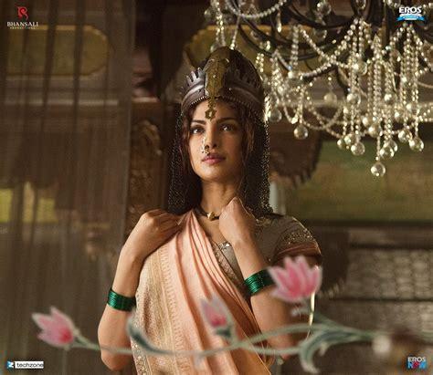 priyanka chopra images in bajirao mastani first look ranveer singh deepika padukone and priyanka