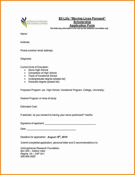 Scholarship Demand Letter 6 Letter Applying For Scholarship Ledger Paper