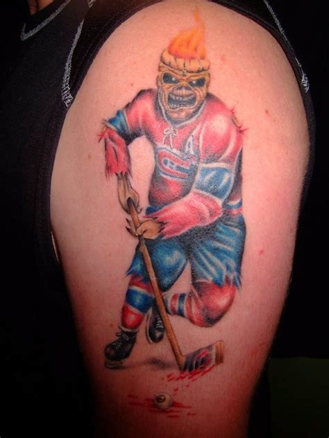 tattoo iron ink quebec 74 best tatouages tricolore habs ink images on pinterest