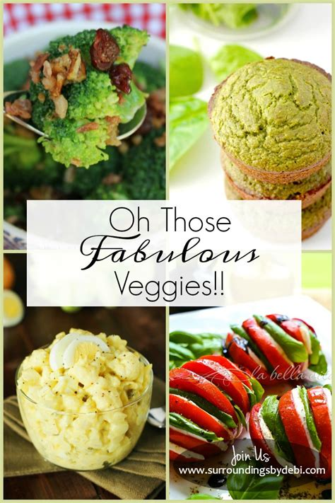 Oh Those oh those fabulous vegetables surroundings by debi