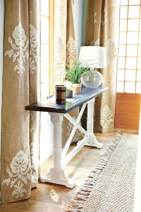 southern living curtains curtains stenciled curtains and southern living on pinterest