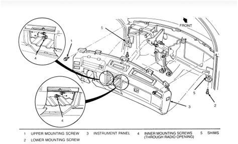 service manuals schematics 1999 cadillac seville instrument cluster service manual 1999 cadillac seville remove dashboard removing cadillac seville dashboard
