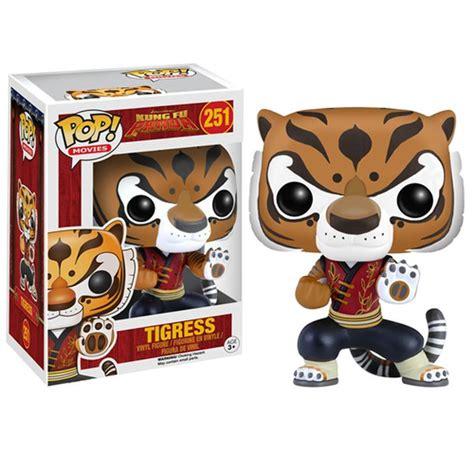 kung fu panda tigress funko pop figur merchandise zavvi de