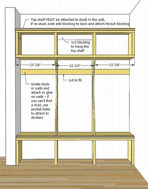 laundry bench height easy and cheap mudroom lockers with bench plans mud room